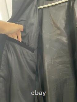 M&m Black Button-up Nascar Racing Jacket Jh Design Taille XL