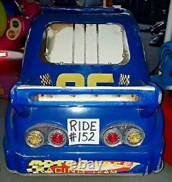 Nascar #06 Citgo Race Car Coin Operated Kiddie Ride Par Falgas Works Ride #152
