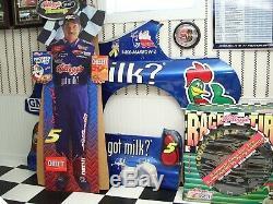 Nascar # 5 Terry Labonte Race Utilisée Du Métal À Partir De 2003 Got Milk Campagne