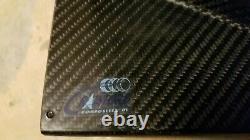 Nascar Cot Carbon Fiber Show Car Wing Avec Plaques D'extrémité Utilisées De Course