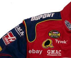 Nascar Jeff Gordon Mens Jacket XL Dupont Racing Chase 24 Sunoco Gas Flames Fire