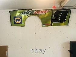 Nascar Race Used Sheet Metal Chase Elliott Mtn Rosée