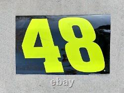 Nascar Race Used Sheet Metal Jimmie Johnson Ally #48 Porte