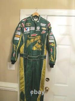 Nascar Race Utilisé Dale Earnhardt Jr Dewshine Crew Firesuit Autoed Fire Suit Sfi
