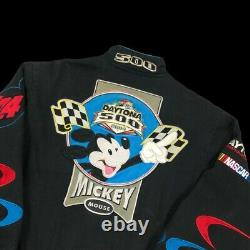 Nascar Veste Taille Petit Mickey Disney Vintage USA Racing Jh Designs