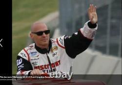 Original Race Costume D'usé Jacques Villeneuve Nascar Nationwide Penske 2012