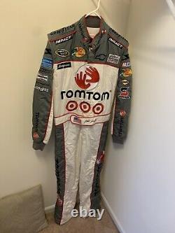 Rare Martin Truex Jr Tomtom Race Pocono D'occasion 500 2009 Feu D'artifice