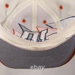 Rare Vintage Nascar Racing Team Logo Athletic Double Sharktooth Chapeau Snapback