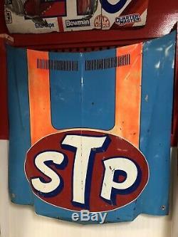 Richard Petty # 43 Stp Nascar Utilisé Sheetmetal Capot