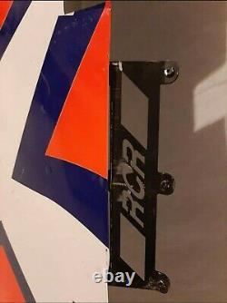 Richard Petty Motorsports Bubba Wallace Race Utilisé #43 Panneau De Toit Feuille De Métal RPM