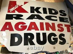 Shawna Robinson Kids Race Against Drugs Race Utilisé Hood Feuillettal Nascar & Pneu