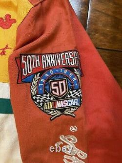 Terry Labonte #5 Kellogs Racing Jacket Homme Grand Nascar 50th Ann. 1998