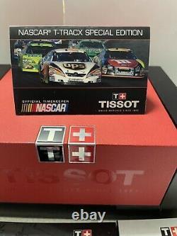 Tissot Mens Voir T-race Nascar Edt. Batterie Nouvelle Marque