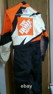 Tony Stewart 2003 Home Depot Fire Suit Nascar Joe Gibbs Racing Firesuit