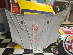 Tony Stewart Home Depot Jgr Chevrolet Nascar Race Utilisé Sheetmetal Hood Auto'd