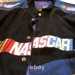 Veste De Course Nascar Vintage 2xl Rare Noir