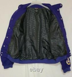 Veste Vintage Crown Royal Roush Racing Team Taille XL Purple Nascar