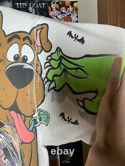 Vintage 1996 Scooby Doo Nascar Wacky Course Tee Grand