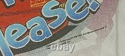 Vintage 1998 Cartoon Network Wacky Racing Nascar T-shirt All Over Imprimer XL