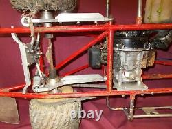 Vintage 1/4 Trimestre Balance Rc Stock Voiture Nascar Racing Ovale Track Wcm Seco