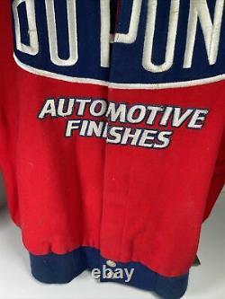 Vintage Chase Authentics Jeff Gordon 24 Nascar Racing Veste XL Flames Dupont