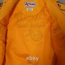Vintage Nascar M&m Ken Schrader Chase Authentics Racing Jacket Taille L