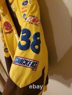 Vintage Nascar Racing Elliott Sadler M & M Ups Taille XL Veste D'hiver #38 X Large