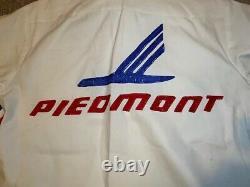 Vintage Piedmont Airlines Course De La Série Nascar Winston Cup Utilisé Fosse Uniforme D'équipage