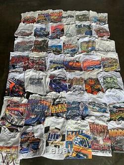 Vintage Wholesale T Shirt 42 Lot Graphic 90s 00s Bundle Nascar Classic Cars Race