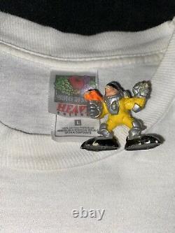 Vtg 90s Cartoon Network Scooby Doo Wacky Racing T-shirt Hommes Taille L Nascar