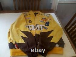 Vtg Nascar M&m Elliot Sadler #38 Veste De Course Taille XL