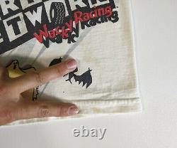 Vtg Nascar X Scooby Doo Men's M Medium Cartoon Racing T-shirt All Over Vintage