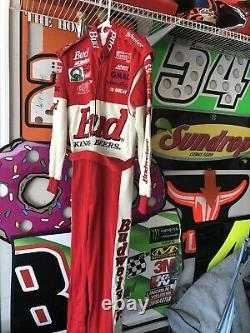 Wally Dallenbach Budweiser Hendrick Motorsport Nascar Race Used Drivers Firesuit