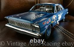 Wendell Scott #34 Université Des Légendes De Course 124 Échelle 1965 Ford Galaxie